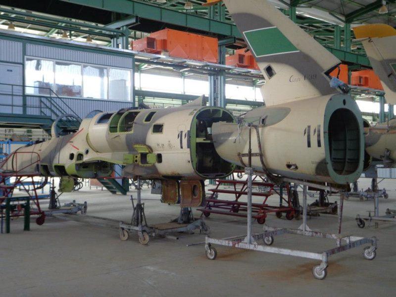 L-39 на ремзаводе ARPO