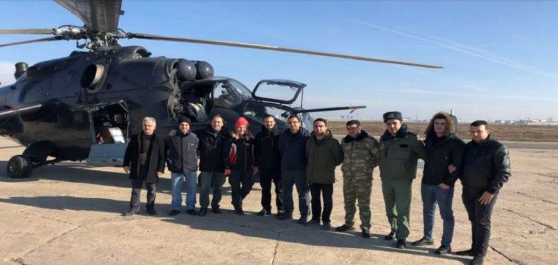 Модернизированный турками Ми-24
