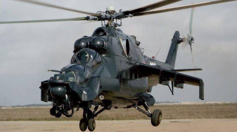 Ми-24G ВВС Азербайджана