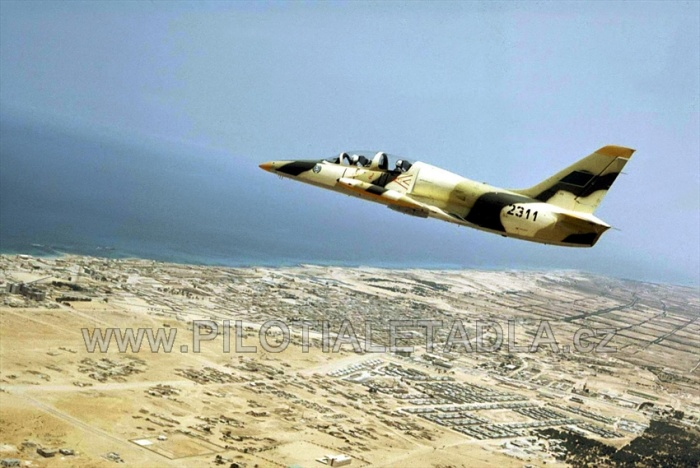 Libyan L-39 N2311