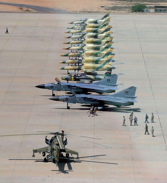 Авиация Правительства Национального единства Ливии