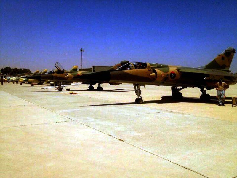 Mirage F-1 авиации GNA