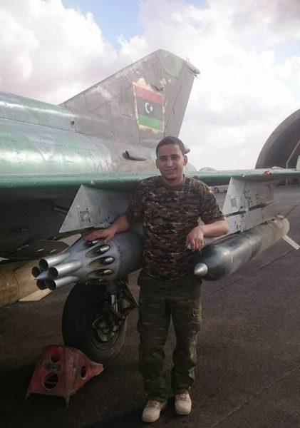 Ливийский МиГ-21 с НУРС С-24
