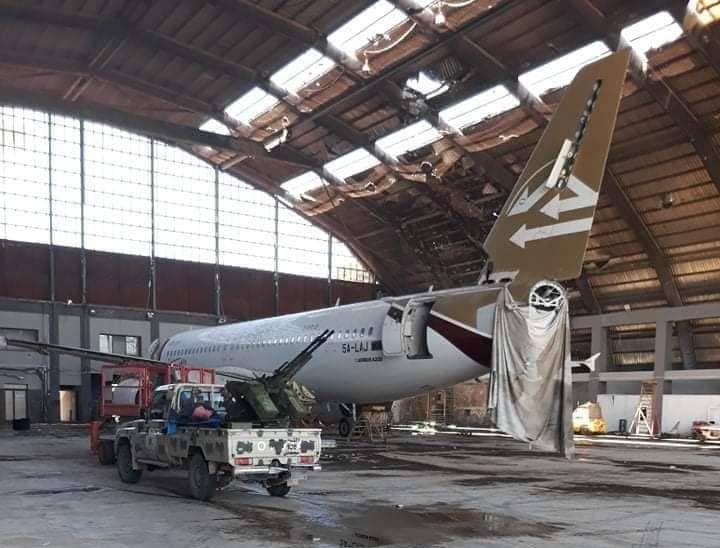 Ангар аэропорта Триполи