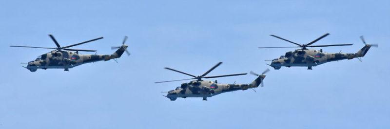 Ми-24В - N110