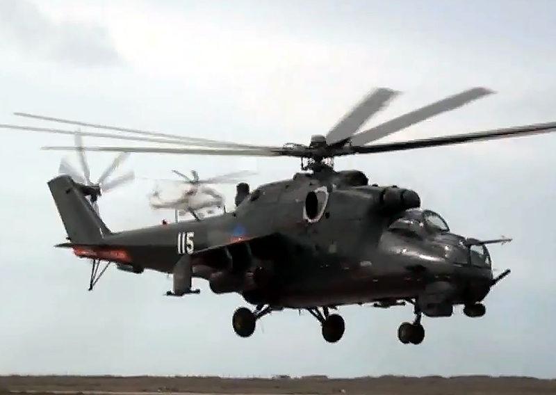 Ми-24В N115