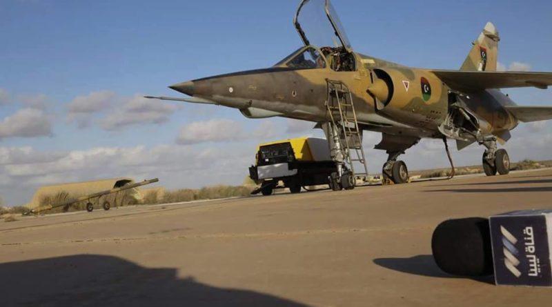 LNA Mirage F-1AD N402