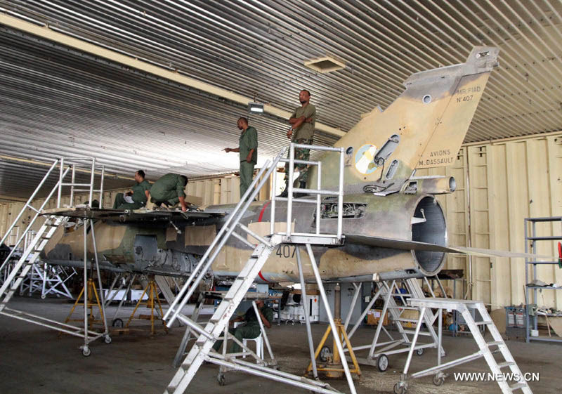 Libyan Mirage F-1AD N407