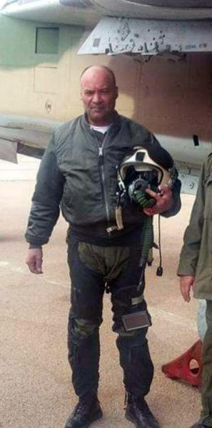 Пилот сбитого МиГа
