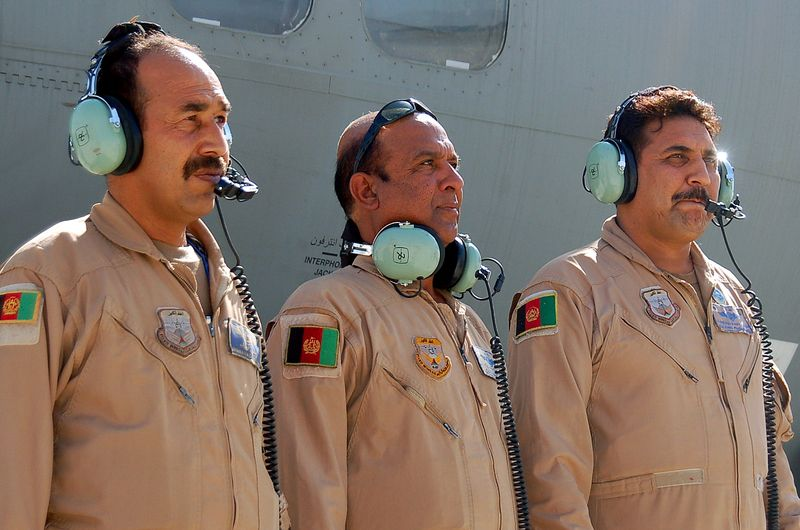 The Afghan crew who took off on their own