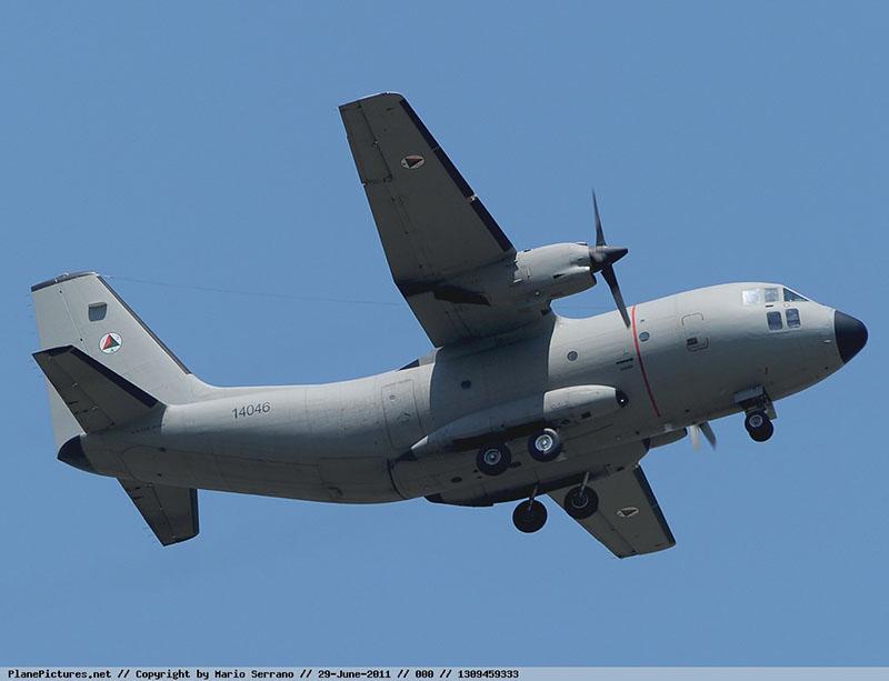 C-27A Spartan N14046 of Afghanistan Air Force