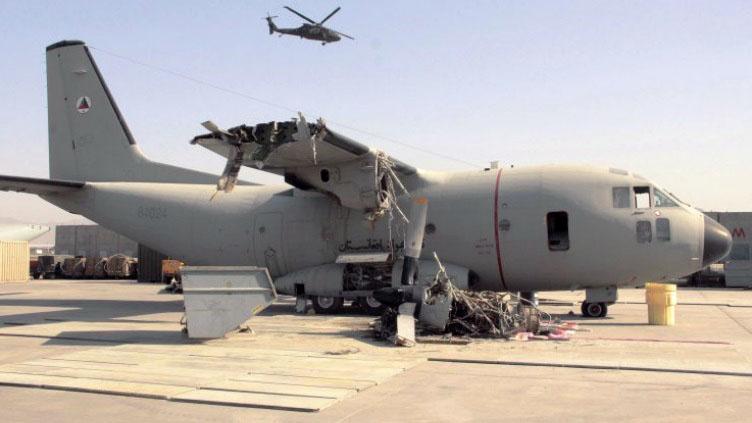 Уничтожение афганского С-27 Спартан