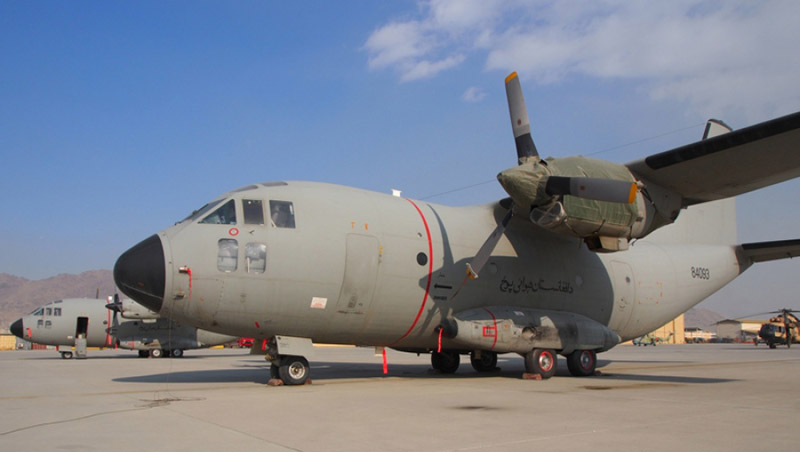 Афганский Спартан N14050 в Кабуле