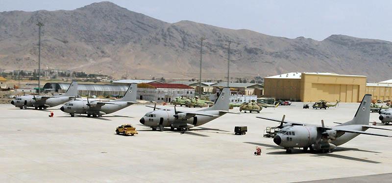 C-27A Spartan at Kabul