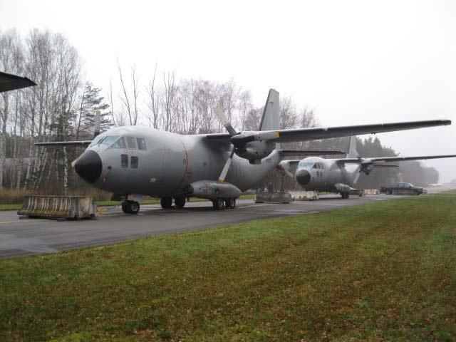 Афганские C-27A Spartan в Рамштайне