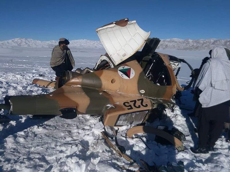 8 февраля 2019 MD530F N225 упал в Saydabad, район Wardak