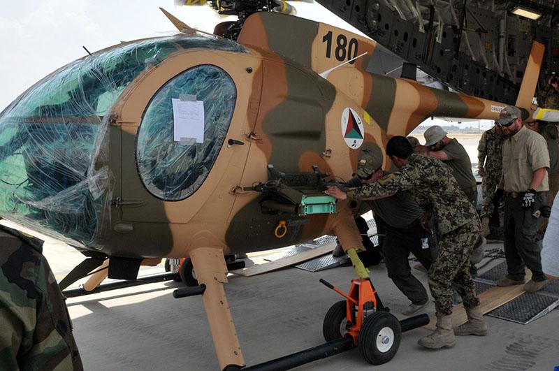 Возвращение MD530F N180 после модернизации в США