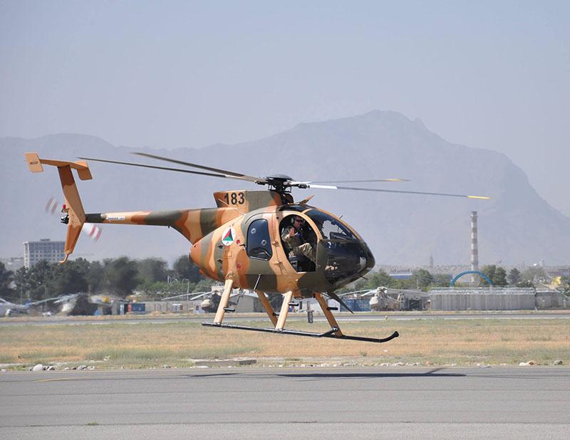 MD530F N183 take-off