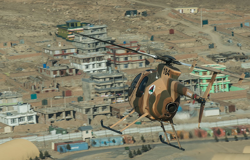 MD530F N184 over Kabul