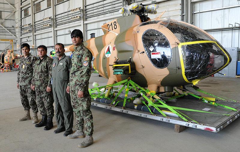 MD530F Cayuse Warriors N218 ВВС Афганистана