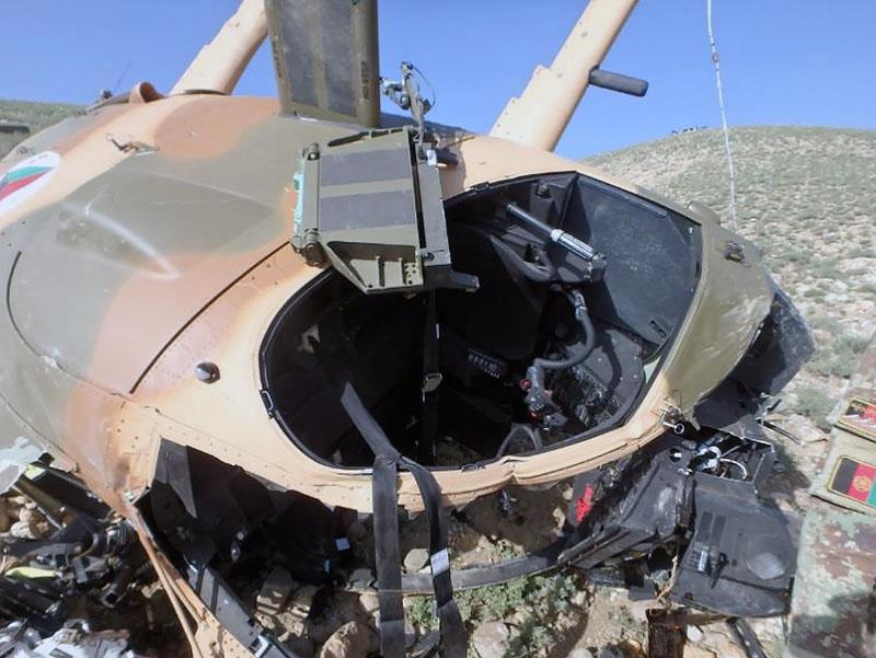 MD530F N218 потерпел аварию 17 мая 2015