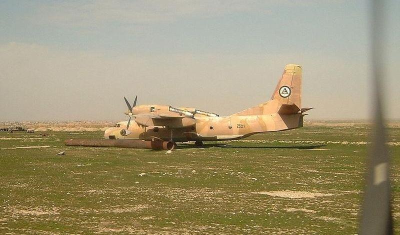 Афганский Ан-32 N281 в Мазари-Шарифе