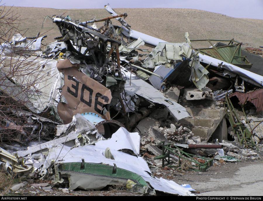 Обломки Ан-32 N306