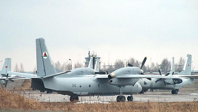 Афганский Ан-32 N342 в России