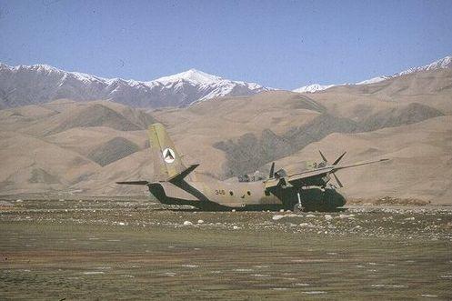 Разбитый Ан-32 N346 в Файзабаде
