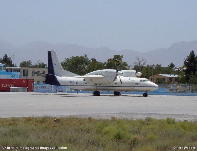 Ан-32 N350 в Герате в 2004 году