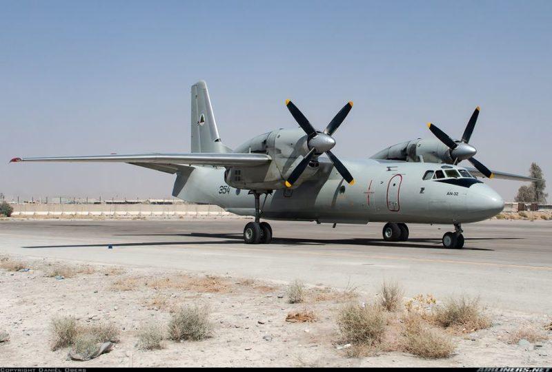 Приобретенный американским флотом для ВВС Афганистана Ан-32 N354