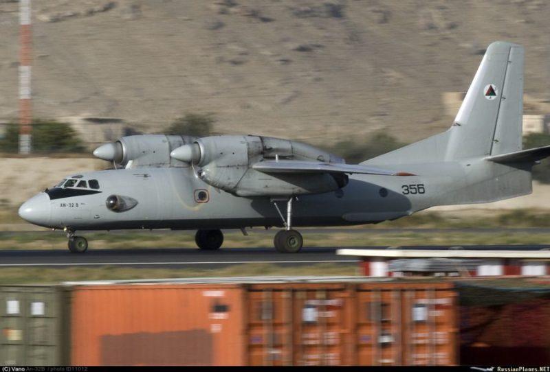 Афганский Ан-32 N356