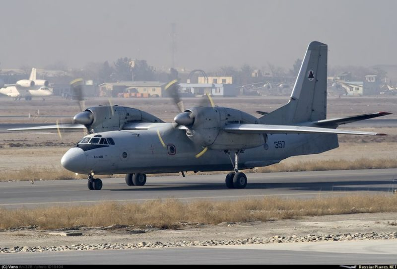 Афганский Ан-32 N357