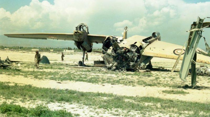 Ан-32 Афганских ВВС
