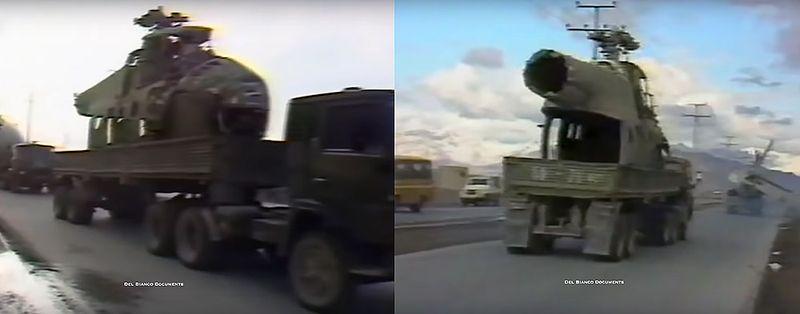 Фюзеляж афганского Ми-4 на трейлере