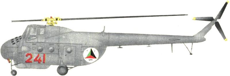Ми-4 N241 ВВС Афганистана