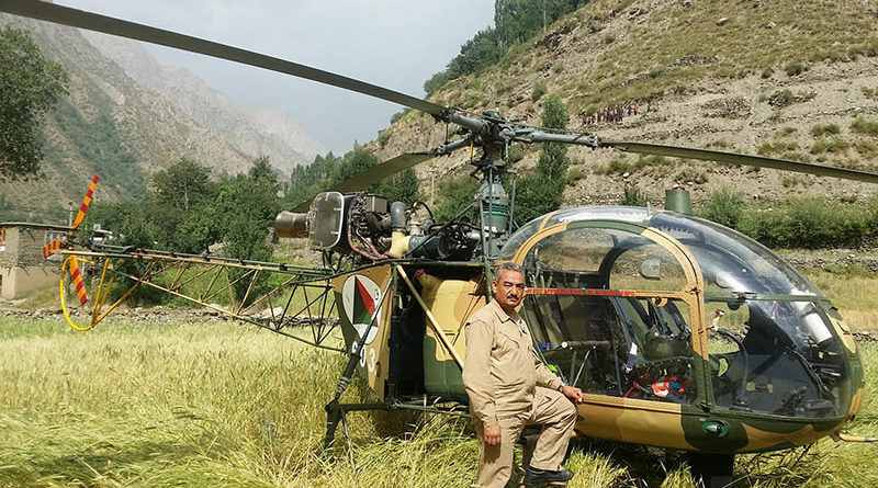 Afghanistan Air Force HAL Cheetal helicopter