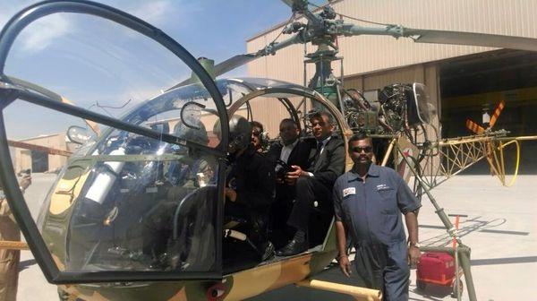 Вертолет Cheetal в Кабуле