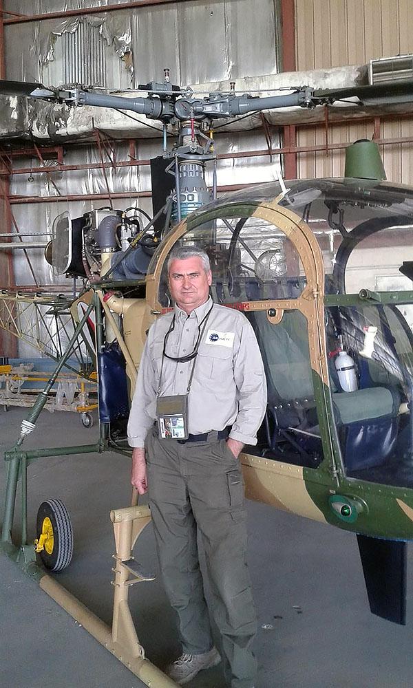 Вертолеты Cheetal в Афганистане