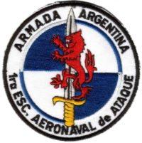 Эмблема 1-й Escuadrila Aeronaval de Ataque