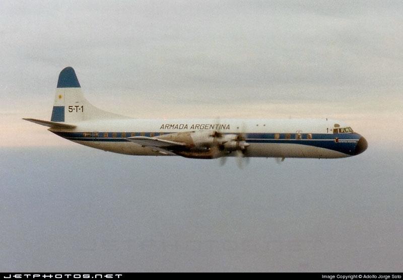 Lockheed L-188 Electra 5-T-1 Armada Argentina