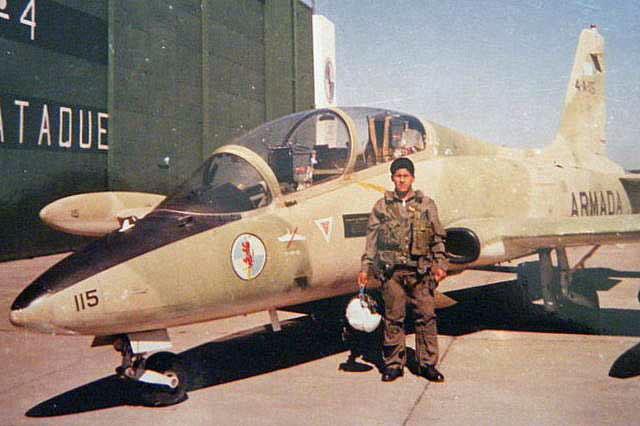Aermachhi MB-339A 4-A-115 на послевоенном снимке