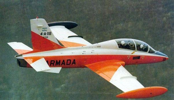 Aermacchi MB-339A 4-A-118 в заводской окраске