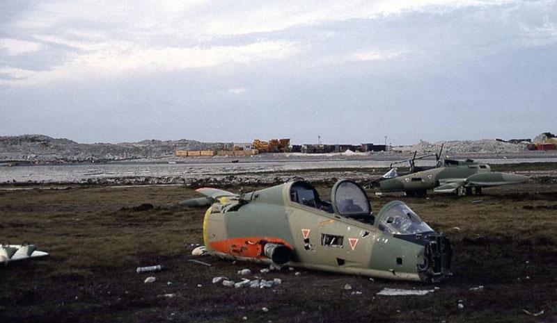 Остатки Aermacchi MB-339A 4-A-116