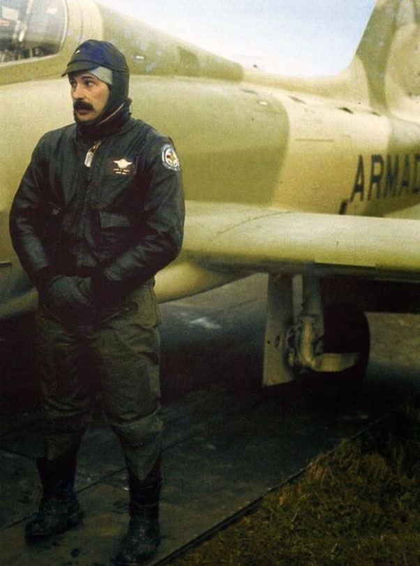 Лейтенант Криппа после вылета 21 мая