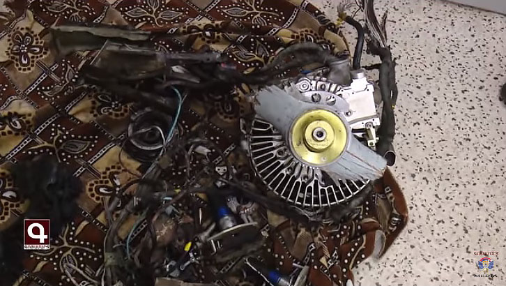 Двигатель Harop, снятый 19 октября