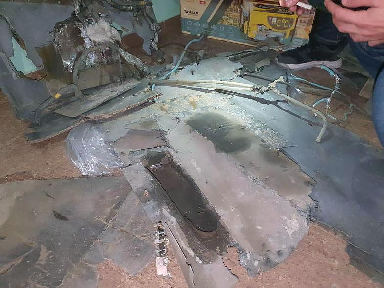 Обломки сбитого 22 октября 2020 Харопа