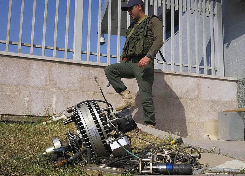 Harop engine near armenian target