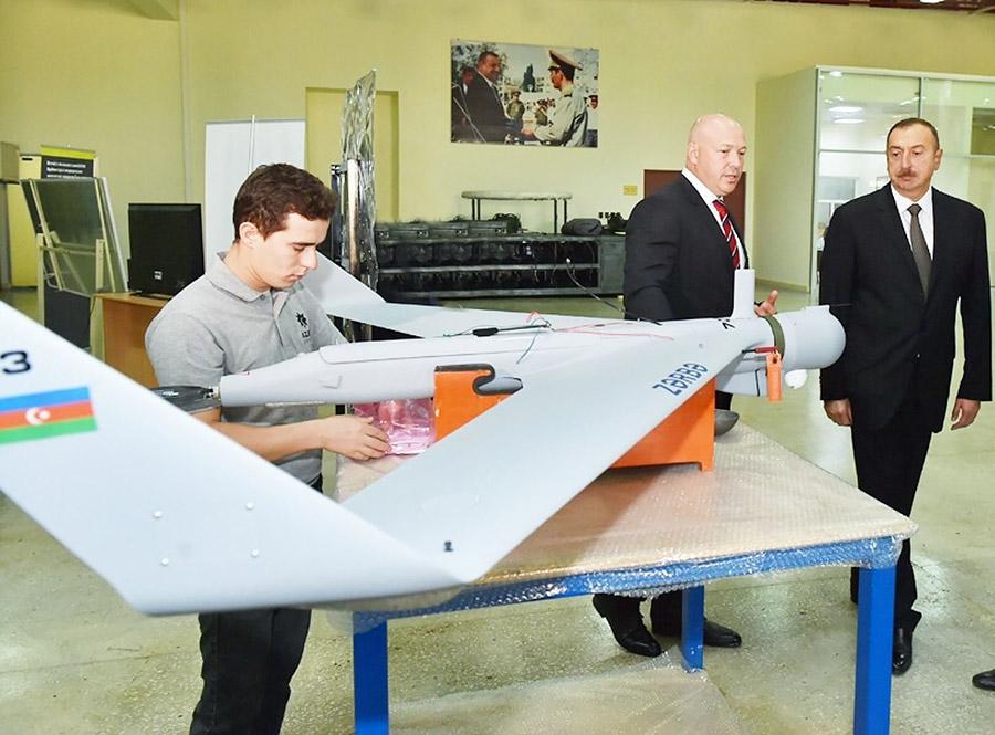 Zerbe 1K на заводе Azad Systems