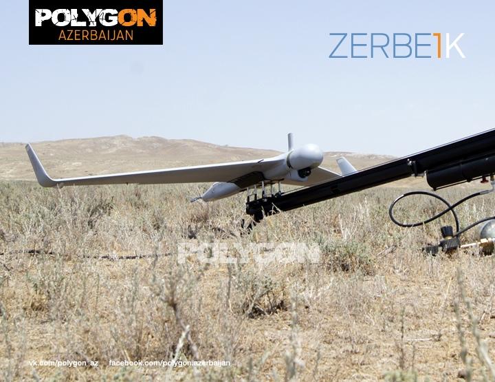 Zerbe-1K на катапульте